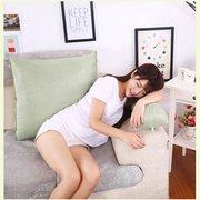 Треугольная спинка подушки для дивана подушки для кровати Толстый кордюрный Подушка Назад Поддержка