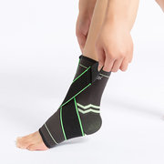 Unisex Elastic Bandage Compression Knitting Sports Protector Basketball Soccer Ankle Support
