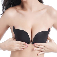 Sexy Front Closure Push Up Silicone Invisible Strapless Bras