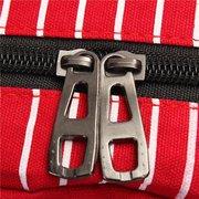 Zaino del sacchetto di viaggio della striscia della tela di canapa delle donne di modo