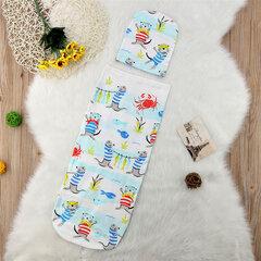 Print Babyschlafsack aus fester Baumwolle mit Hut für 0-12 Monate