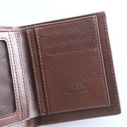 Натуральная Кожа Ретро 5-слот для карт памяти большой емкости Кошелек для денег для мужчин