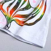 Pferd Print Mädchen Langarm T-Shirt für 1-7 Jahre