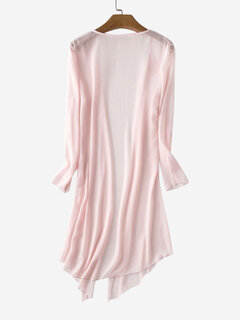 Slim Sun Protection Chiffon Blouse Coat