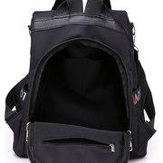 Women Nylon Waterproof Backpack Travel Large Capacity Shoulder Bag