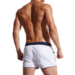 Mens Summer Drawstring Board Shorts Casual Slim Fit Sport Shorts