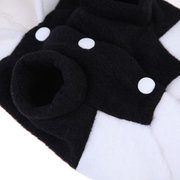 Pet Dog Cat Cute Fleece Panda Clothes Warm Coat Costume Outwear Apparel XS-XXL