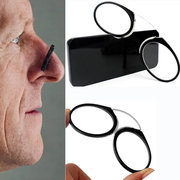 Nose Resting Portable Pocket Wallet Reading Glasses Personal Eye Health Care