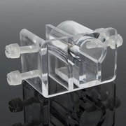 Aquarium Acrylic Fixing Clip Water Pipe Tube Holder Serbatoio di pesce del morsetto del tubo del supporto del filtro