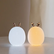 Cute Deer Rabbit Style LED Night Light 3D Silicone Stress Reliever USB Night Lamp Novelty
