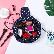 Multifunción portátil Impermeable Travel Bolsa Paquete rápido Cosméticos de gran capacidad Bolsa Lazy Maquillaje