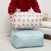 Oxford Clothes Quilts  Storage Container Folding Organizer Washable Portable Storage Bags