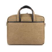 Men Business Casual Canvas Handbag Shoulder Bag Compurter Bags Crossbody Bags