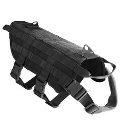 600D Nylon Police Tactical Military Molle System Dog Equipamento militar Tactical Training Dog Vest