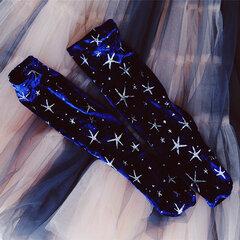 Women Shiny Star Socks Velvet Stretch Long Tube Socks Casual Pile Heap Socks