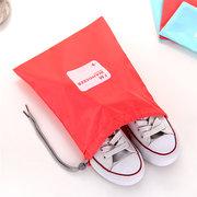 Casual 4 Stücke Nylon Wasserdichte Zugband Aufbewahrungstasche Kleidung Schuhe Kosmetiktasche Reisetasche