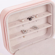 Women Travel Portable Jewelry Storage Bag Small Earrings Storage box