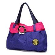 Женское Повседневная сумка контрастного цвета Nylon Легкое плечо Сумка