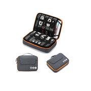 حقيبة التخزين متعددة الوظائف شحن القرص الصلب المحمول الكنز USB القوة سماعات التشطيب رزمة
