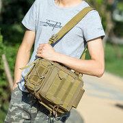 Bolsa Masculina a Tiracolo de Nylon de Camuflagem Portátil Multifuncional Militar Impermeável