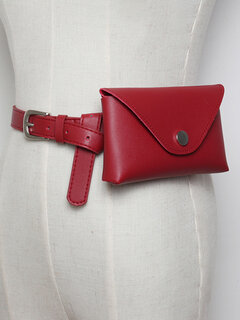 Damen Feste Gürteltasche Fashion Envelope Bag