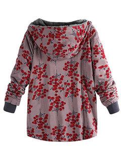 Abrigo de invierno otoño invierno con capucha de algodón con capucha