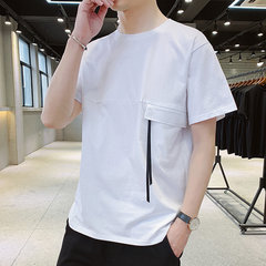 Saison T-shirt à manches courtes pour hommes New Tooling Personality Outing Slim Shirt