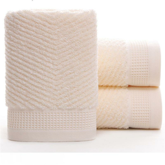 Soft Cotton Bath Towel Thick Water Sweat Absorbent Long-Staple Cotton Towel