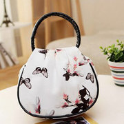 Fiore donna Modello Lunch Borsa Casual Nylon Shopping a mano Borsas
