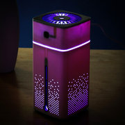 Umromador de ar ultra-som 1000ML 7-Color LED Aroma inteligente Difusor