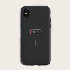 Unisex Batería Cuadrícula Patrón Moda Teléfono lindo Caso TPU Soft shell para iPhone