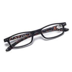 Womens Fashion Vintage Light Flexible High Definition Flower Square Reading Glasses