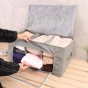 Housse Rangement Sac Tissu Non-tissé pour Vêtements et Couette