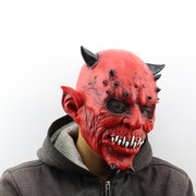 Clown Horror Latex Halloween Scary Head Face Mask 3D Effect Zombie Face For Adult Halloween Gift