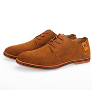Large Size Men Leather Non-slip Business Casual Shoes