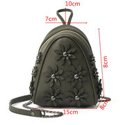 Stylish Flower Pattern Phone Bag Crossbody Bags Shoulder Bags For Women