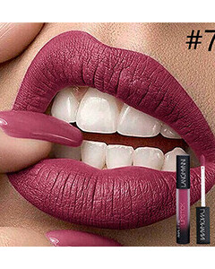 12 Colors Matte Lip Gloss Non-stick Cup Long-Lasting Lip Glaze Nude Liquid Lipstick