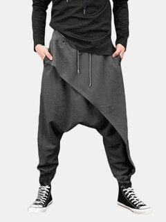 الرجال الحريم السراويل الفضفاضة بنطلون بنطلون ملابس رياضية عارضة عداء ببطء الرقص Sweatpants
