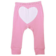 Heart Print Unisex Baby Cotton Pants For 0-36M