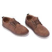 Rétro Comfy Oxford Flat Flat Chaussures à lacets