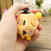12 Side Sided Fidget Cube Desk Toy Stress Anxiety Relief Focus Puzzle Adult Kid