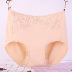 6XL Plus Size High Waisted Butt Lifter Cotton Lace Panties