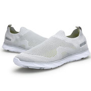 Large Size Women Outdoor Running Breathable Light Knit Trainers Shoes