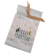 50Pcs/Set Christmas Festive Coloured Cello Cone Party Bags Candy Sweet Treat Gift Wrap