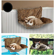 Cat Hammock Bed Chair Ultra Portable Warm Fleece Beds Basket Cradle Animal Puppy Pet