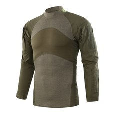 Mens Tactical Camouflage Quick-dry High Elasticity Wicking Long Sleeves Outdoor T Shirt