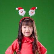 عيد الميلاد رأس ثلج سانتا كلوز عقال الشعر هوب زينة عيد الميلاد