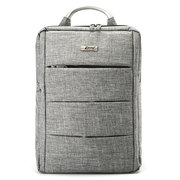 Men Women Aluminium Handle 15.6inch Nylon Laptop Backpack Business Knapsack Shoulder Bag