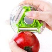 الفولاذ المقاوم للصدأ الخضار مقشرة متعددة الوظائف سكين الفاكهة البطاطس تقشير أدوات المطبخ أدوات