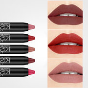 Matte Lipstick Pen Kiss Proof Antiaderente Soft Lipstick Long-Lasting Lip Makeup